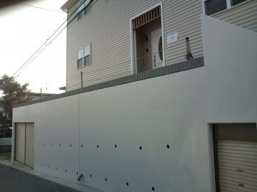 八戸K様邸エクステリア工事始まりました。