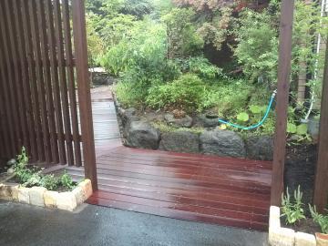 八戸S様邸ガーデンリフォーム完成