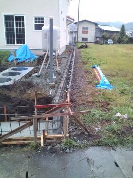 プロバンス風住宅のエクステリア工事
