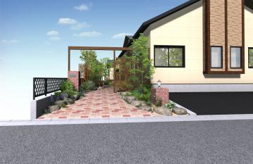八戸N様邸ガーデンリフォーム始まります。