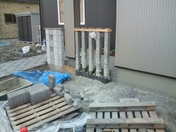 八戸S様邸ガーデンエクステリア工事
