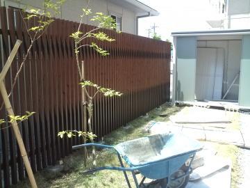 タカショー千本格子のフェンス