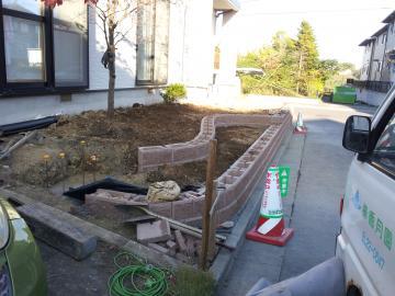 ガーデンリフォーム工事 八戸市T様邸