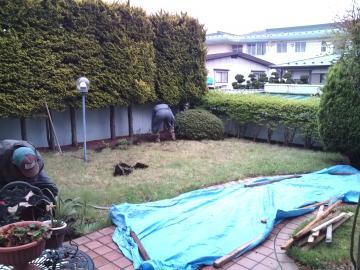 八戸F様邸ガーデンリフォーム