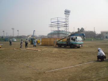 八戸市緑化祭り準備開始
